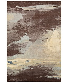 Felicity FCT-8005 Dark Brown 2' x 3' Area Rug