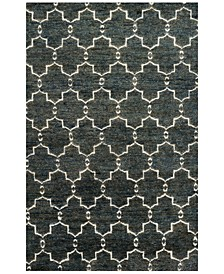 "Sahara SJ-07 Midnight 7'9"" x 9'9"" Area Rug"