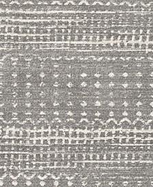 "Harput HAP-1096 Charcoal 18"" Square Swatch"