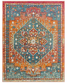 "Surya Herati HER-2301 Bright Orange 3'11"" x 5'11"" Area Rug"