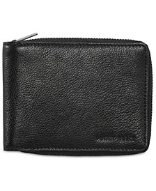 Men's Leather Zip Wallet