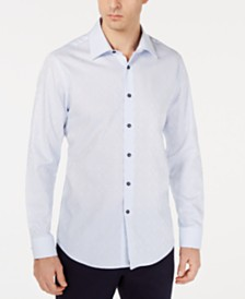 Tasso Elba Men's Olivencia Medallion Shirt