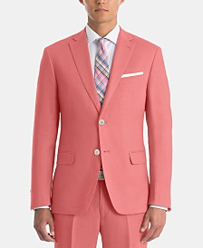 Lauren Ralph Lauren Men's UltraFlex Classic-Fit Red Linen Sport Coat