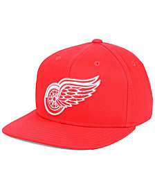 Outerstuff Boys' Detroit Red Wings Constant Snapback Cap