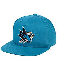 Outerstuff Boys' San Jose Sharks Constant Snapback Cap