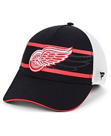 Authentic NHL Headwear Detroit Red Wings 2nd Season Trucker Adjustable Snapback Cap