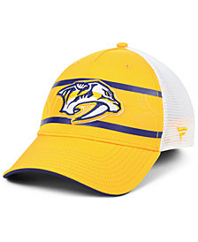 Authentic NHL Headwear Nashville Predators 2nd Season Trucker Adjustable Snapback Cap