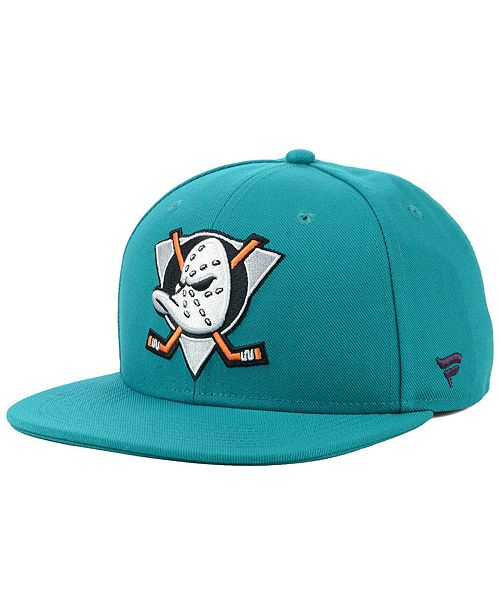 Authentic NHL Headwear Anaheim Ducks Mighty Ducks Collection Fitted Cap