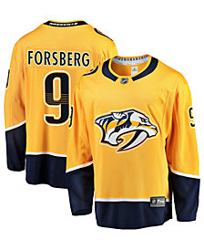 Authentic NHL Apparel Men's Filip Forsberg Nashville Predators Breakaway Player Jersey
