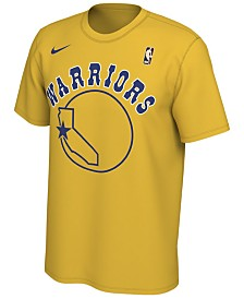 Nike Men's Golden State Warriors Hardwood Classics Logo T-Shirt