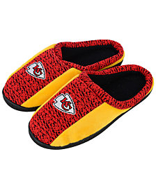 Forever Collectibles Kansas City Chiefs Knit Cup Sole Slippers