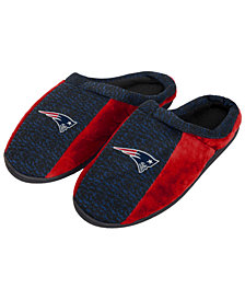 Forever Collectibles New England Patriots Knit Cup Sole Slippers