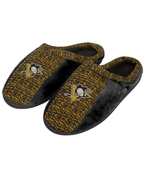 Forever Collectibles Pittsburgh Penguins Knit Cup Sole Slippers