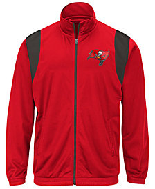 G-III Sports Men's Tampa Bay Buccaneers Clutch Time Track Jacket