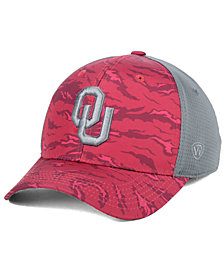 Top of the World Oklahoma Sooners Tiger Camo Flex Stretch Fitted Cap