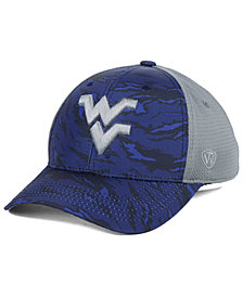 Top of the World West Virginia Mountaineers Tiger Camo Flex Stretch Fitted Cap