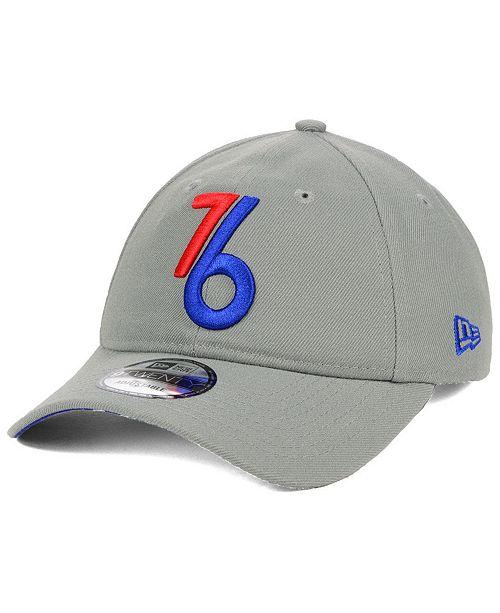 premium selection fd442 5ddac ... New Era Philadelphia 76ers City Series 9TWENTY Strapback Cap ...