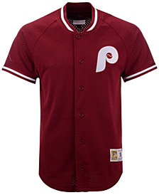 Mitchell & Ness Men's Philadelphia Phillies Pro Mesh Jersey