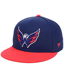 Authentic NHL Headwear Washington Capitals Basic Fan Fitted Cap