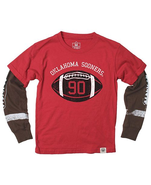 competitive price b4129 9618e Oklahoma Sooners Football Sleeve 2 In 1 T-Shirt, Infants (12-24 Months)