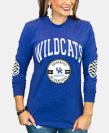 Gameday Couture Women's Kentucky Wildcats Elbow Patch Long Sleeve T-Shirt