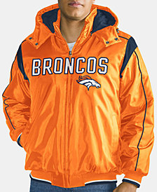 G-III Sports Men's Denver Broncos Hot Read Player Front Zip Jacket