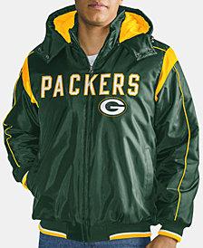 G-III Sports Men's Green Bay Packers Hot Read Player Front Zip Jacket