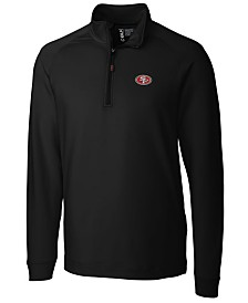 Cutter & Buck Men's San Francisco 49ers Jackson Half-Zip Pullover