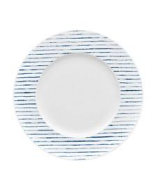 Hammock Rim  Salad Plate - Stripes, Created for Macy's