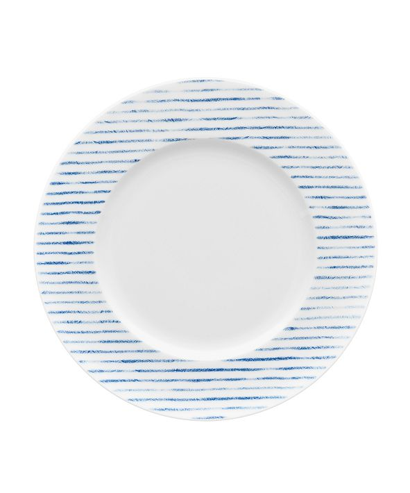 Noritake Hammock Rim  Salad Plate - Stripes, Created for Macy's