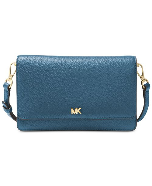 Michael Kors Pebble Leather Phone Crossbody Wallet   Reviews ...
