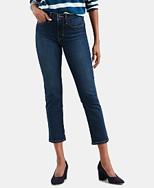 Levi's® 724 Straight-Leg Cropped Jeans