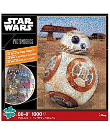 Star Wars Photomosaics - BB-8- 1000 Pieces Puzzle