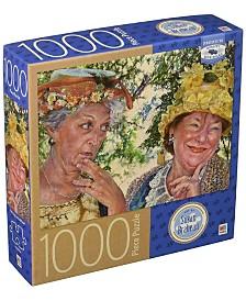 Premium Blue Board Jigsaw Puzzle - Susan Brabeau - Best Friends- 1000 Pieces