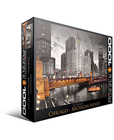 City Collection - Chicago - Michigan Avenue - 1000 Piece