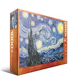 Vincent Van Gogh - Starry Night - 1000 Piece Puzzle