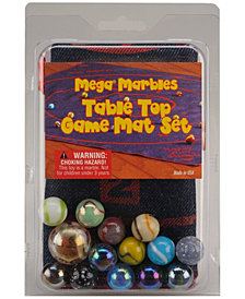 Table Top Marble Game Mat Set
