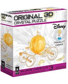 3D Crystal Puzzle - Disney Cinderella's Carriage - 71 Piece