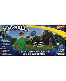 Trac-Ball Toss N' Catch Racket Set
