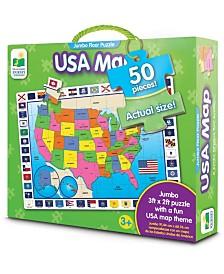 USA Map Jumbo Floor Puzzle- 50 Piece