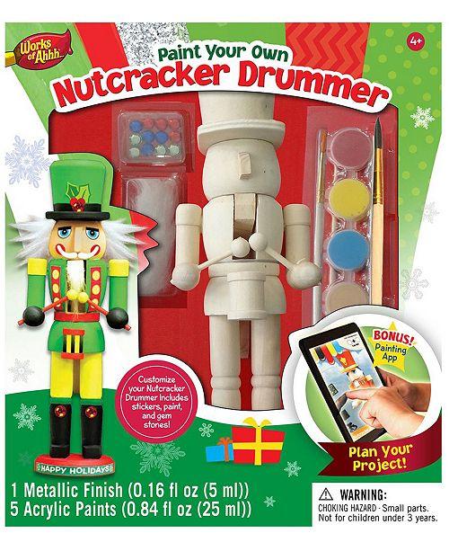 Masterpieces Puzzles Masterpieces Works of Ahhh, Nutcracker Drummer Paint Kit