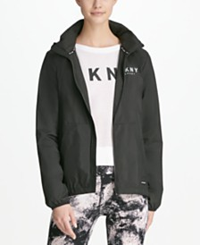 DKNY Sport Convertible Hooded Windbreaker, Created for Macy's