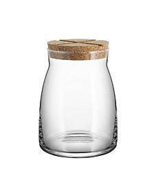 Kosta Boda Bruk Large Jar w/Cork
