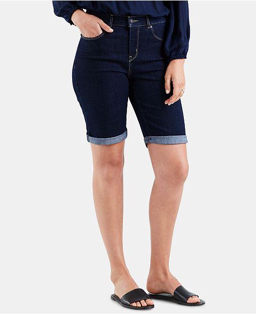 Levi's Denim Bermuda Shorts