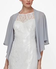 SL Fashions Sheer Capelet Shawl