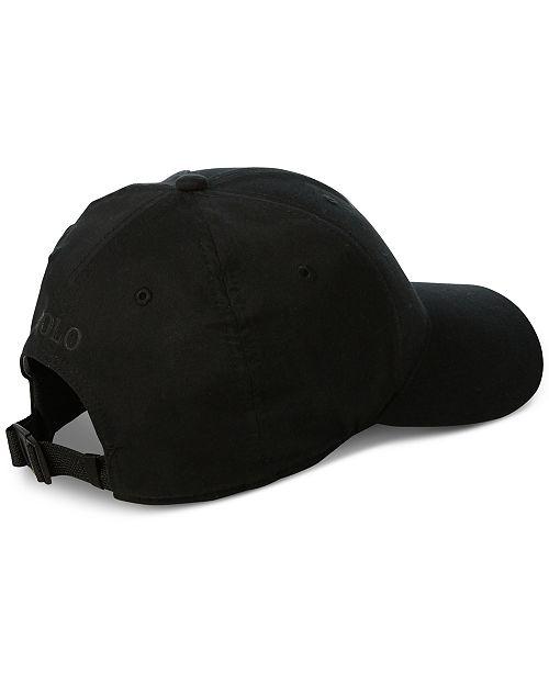 187c2da6a09 Polo Ralph Lauren Men s P-Wing Cap - Hats
