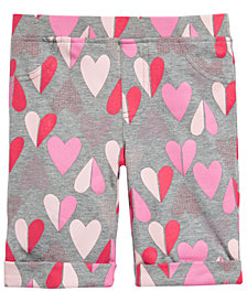 Epic Threads Little Girls Heart-Print Bermuda Shorts, Created for Macy's