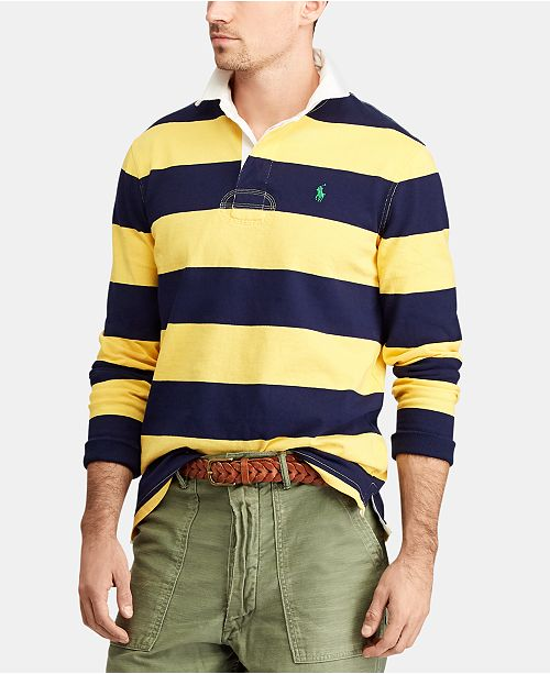 b616add28fb Polo Ralph Lauren Men's Iconic Cotton Rugby Shirt; Polo Ralph Lauren Men's  Iconic Cotton Rugby ...