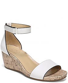 Areda Ankle Strap Wedges