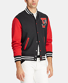 Polo Ralph Lauren Men's P-Wing Baseball Jacket, Created for Macy's